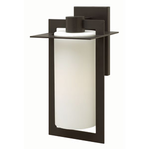Colfax Bronze 9.5-Inch One-Light Outdoor Wall Mounted