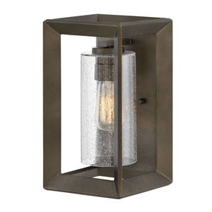 Rhodes Warm Bronze 13-Inch One-Light Outdoor Wall Sconce