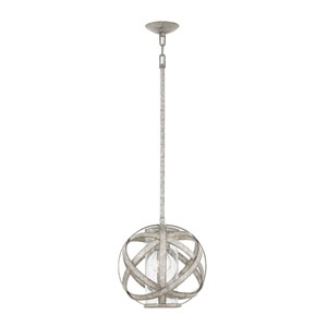 Carson Weathered Zinc Outdoor Pendant