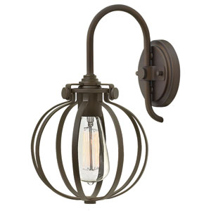 Congress Oil Rubbed Bronze 12.5-Inch One-Light Wall Sconce