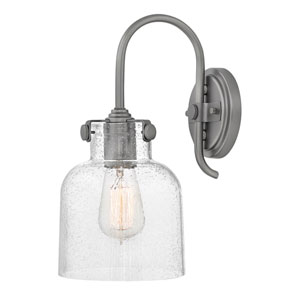 Congress Antique Nickel 7-Inch One-Light Bath Light