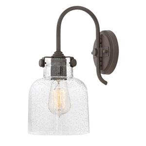 Congress Oil Rubbed Bronze 7-Inch One-Light Bath Light