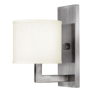 Hampton Antique Nickel One-Light Sconce