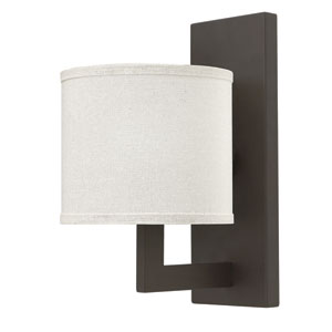 Hampton Buckeye Bronze One-Light Wall Sconce