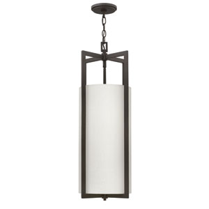 Hampton Buckeye Bronze 210-Inch Four-Light Foyer Pendant