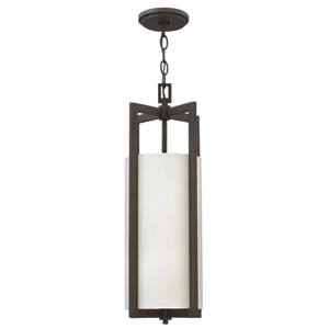 Hampton Buckeye Bronze 22.5-Inch One-Light Mini Pendant