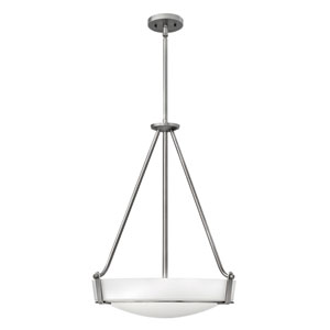 Hathaway Antique Nickel Four-Light Foyer Pendant