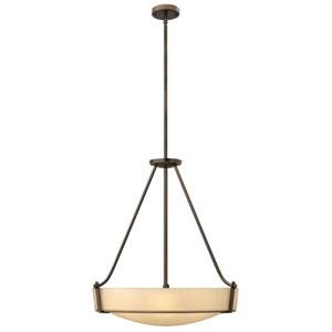 Hathaway Olde Bronze Five-Light Bowl Pendant