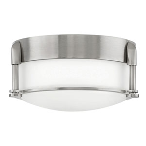 Colbin Brushed Nickel LED Flush Mount