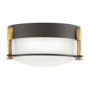 Colbin Oil Rubbed Bronze LED Flush Mount