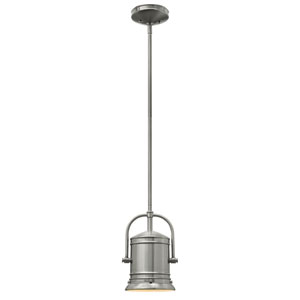 Pullman Brushed Nickel One-Light Mini Pendant