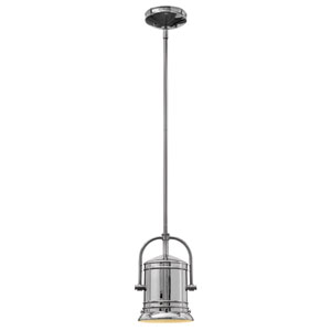 Pullman Chrome One-Light Mini Pendant
