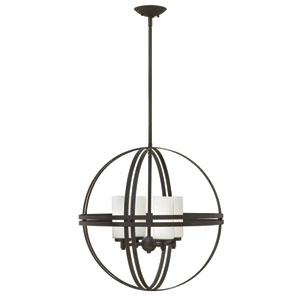 Atrium Bronze Four Light Pendant