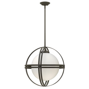 Atrium Bronze One-Light LED Pendant