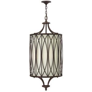 Walden Victorian Bronze Four-Light Pendant