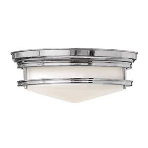 Hadley Chrome Flush Mount Foyer Light