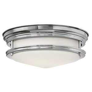 Hadley Chrome One-Light LED Flush Mount