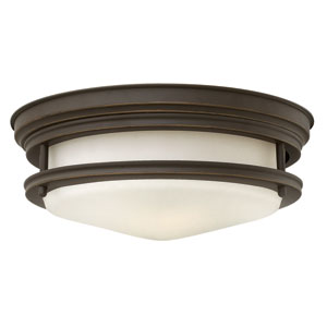 Hadley Oil Rubbed Bronze One-Light LED Flush Mount