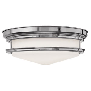 Hadley Chrome Four Light Flush Mount
