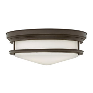 Hadley Oil Rubbed Bronze Four Light Flush Mount