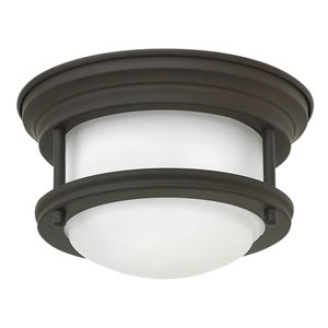Hadley Oil Rubbed Bronze 8-Inch One-Light LED Flush Mount