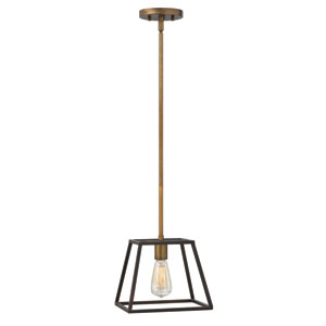 Fulton Bronze One-Light Mini Pendant