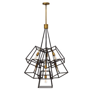 Fulton Bronze Seven-Light Pendant