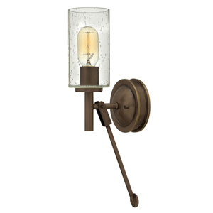 Collier Light Oiled Bronze 5-Inch One-Light Wall Sconce