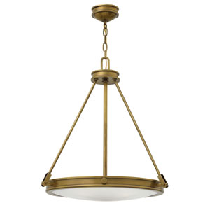 Collier Heritage Brass Four-Light Foyer Pendant