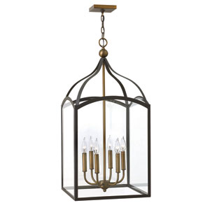 Clarendon Bronze Six-Light Foyer Pendant