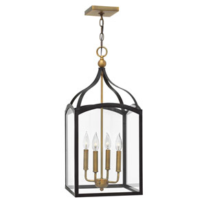 Clarendon Bronze Four-Light Foyer Pendant