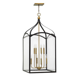 Clarendon Bronze Eight-Light Foyer Pendant