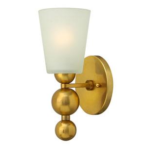 Zelda Vintage Brass Sconce