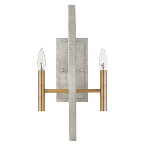 Euclid Cement Gray Wall Sconce