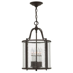 Gentry Olde Bronze Four Light Pendant