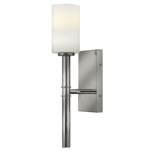 Margeaux Polished Nickel One-Light Sconce