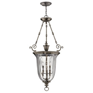 Oxford Medium Pewter Urn Pendant