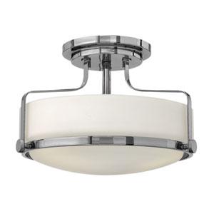 Harper Chrome Two Light LED Foyer Semi Flush