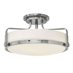 Harper Chrome Semi Flush Mount