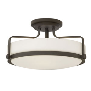 Harper Oil Rubbed Bronze Semi Flush Mount