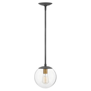 Warby Aged Zinc One-Light Mini Pendant