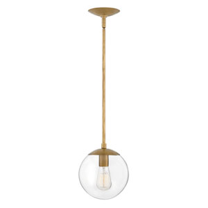 Warby Heritage Brass One-Light Mini Pendant