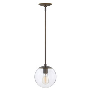 Warby Light Oiled Bronze One-Light Mini Pendant