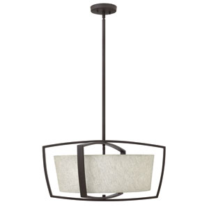 Blakely Buckeye Bronze Four-Light Pendant