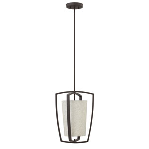 Blakely Buckeye Bronze One-Light Foyer Pendant