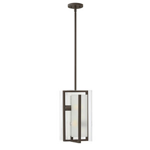 Latitude Brushed Nickel Two-Light 16.5-Inch Stem Hung Pendant