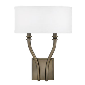 Surrey Oiled Bronze Two-Light Wall Sconce