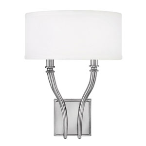 Surrey Polished Nickel Wall Sconce