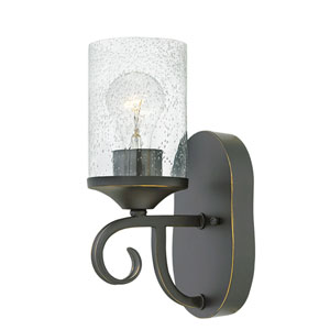 Casa Olde Black 11-Inch One-Light Wall Sconce