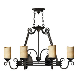 Casa Eight-Light Scrollwork Chandelier